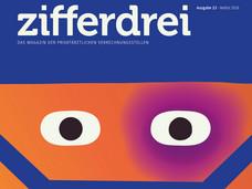 Titelbild PVS Verbandsmagazin zifferdrei Ausgabe 2018-03