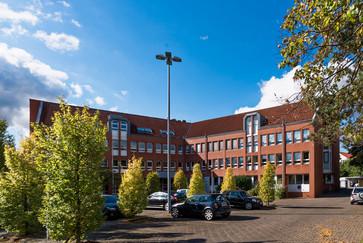 Gebäudeansicht Bezirksstelle Osnabrück der PVS Niedersachsen